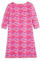 Vineyard Vines Girls' Whale-Tail-Print Shift Dress - Big Kid