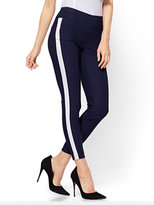 New York & Co. 7th Avenue Pant - High-Waist Pull-On Ankle - Ultra Stretch - Navy - Petite