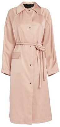 Kassl Editions Satin Belted Original Below Coat