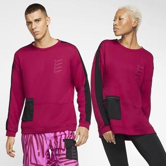 Nike Fleece Training Top Dri-FIT
