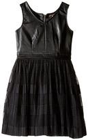 Ella Moss Amie Fit and Flare Pleated Dress (Big Kids)