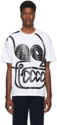 MONCLER GENIUS 2 Moncler 1952 White Abstract T-Shirt