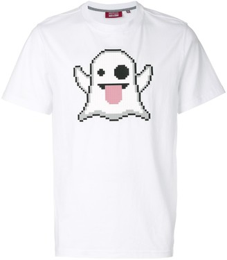 Mostly Heard Rarely Seen 8-Bit pixel ghost T-shirt