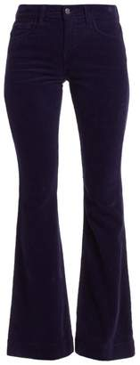 L'Agence The Affair High-Rise Corduroy Flare Pants