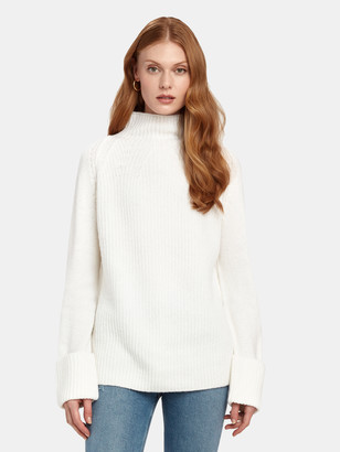 Vince Mix Stitch Funnel Sweater