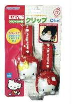 SANRIO Hello Kitty Clip for Strollers/blanket (japan import)