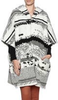 BB Dakota Roza Toggle Hooded Poncho