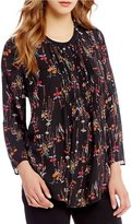 Gibson & Latimer Woven Floral Blouse