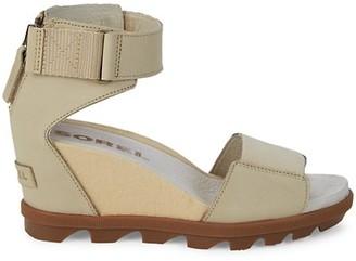 Sorel Joanie Leather Wedge Sandals