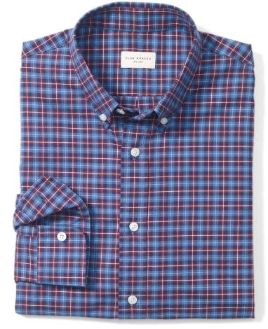 Club Monaco Slim-Fit Owen Plaid Shirt
