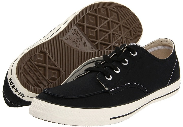 Converse Chuck Taylor All Star Classic Boot Oxford - Canvas (Black) - Footwear