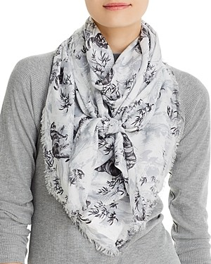 AllSaints Strength Square Scarf