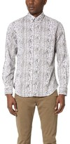 Gitman Brothers Birch Tree Print Shirt