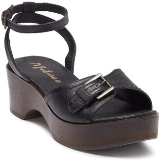 Matisse Dutch Genuine Calf Hair Ankle Strap Sandal