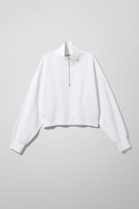 Weekday Aldora Sweatshirt - White