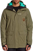 Oakley Westend Hooded Worn Olive Jacket