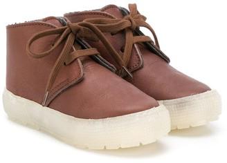 Pépé Lace-Up Ankle Boots