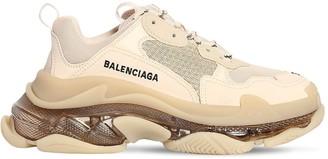 Balenciaga 60mm Triple S Clear Soul Mesh Sneakers