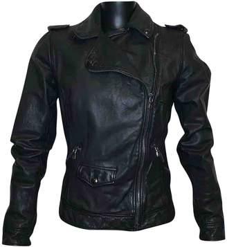 Dolce & Gabbana Black Leather Jackets