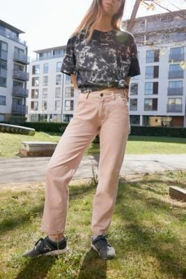 Dickies Pink Carpenter Trousers - Pink 24 at Urban Outfitters