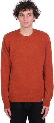 Carhartt Knitwear In Orange Wool