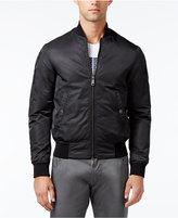 Armani Jeans Men's Eagle Embroidered Bomber Jacket