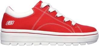 Skechers Street Cleat 2 Bring It Back Platform Canvas Sneakers