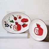 Collector's Editions Serving Platter - Red Pomegranate
