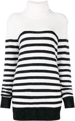 Balmain Oversized Striped Jumper