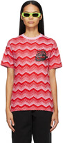 Thumbnail for your product : SSENSE WORKS SSENSE Exclusive Jeremy O. Harris Red & Pink Print Rose T-Shirt