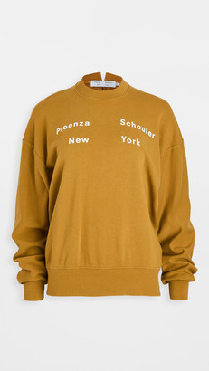 Proenza Schouler White Label Long Sleeve Sweatshirt
