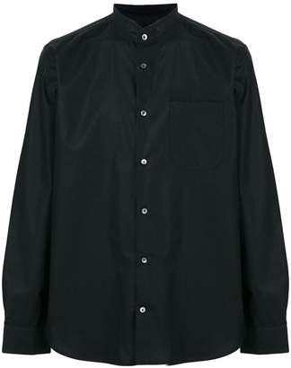 Mauro Grifoni crew neck button shirt
