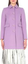 Gucci A-line wool coat