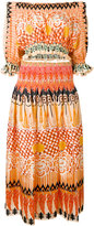 Temperley London printed two-piece set - women - Silk - 10
