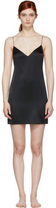 Kiki de Montparnasse Black Open Back Slip Dress