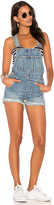 Joe's Jeans X Taylor Hill The Short Overalls