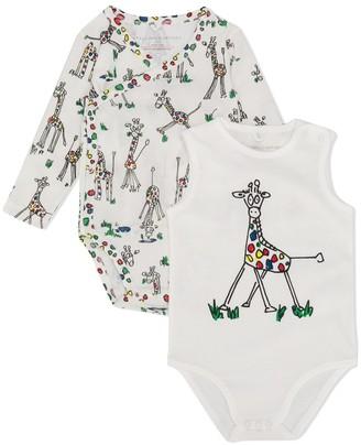 Stella Mccartney Kids Giraffe Print Body