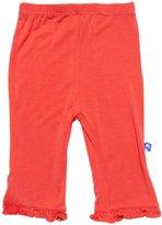 Kickee Pants Ruffle Pants (Baby) - Poppy-Preemie