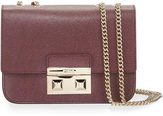 Furla Bella Mini Leather Crossbody Bag