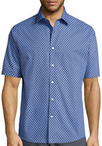 Claiborne Short Sleeve Woven Shirt