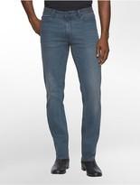 Calvin Klein Slim Straight Leg Clean Teal Wash Jeans