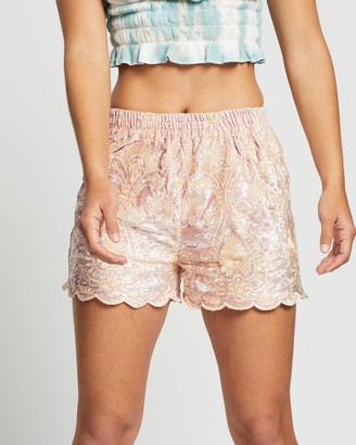 LENNI the label - Women's Pink High-Waisted - Muse Shorts - Size One Size, XS at The Iconic