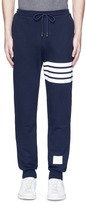 Thom Browne Stripe print cotton sweatpants