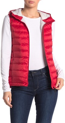 Lole Rose Hooded Down Puffer Vest