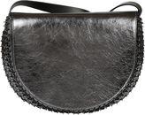 Paco Rabanne Crackled Metallic Shoulder Bag