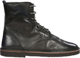 Golden Goose Deluxe Brand Leather Lace-Up Ankle Boots