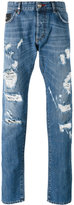 Philipp Plein denim distressed jeans - men - Cotton - 30