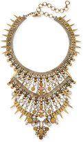 Kendra Scott Serayah Statement Necklace in Antique Brass