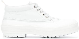 Jacquemus Mid Ankle Duck Boots