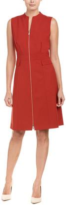 Lafayette 148 New York Carlina Wool-Blend Shift Dress